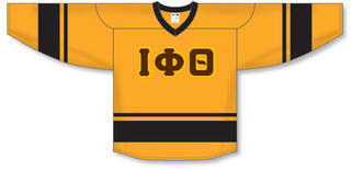 Iota Phi Theta Breakaway Lettered Hockey Jersey