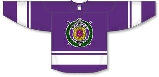Omega Psi Phi League Hockey Jersey