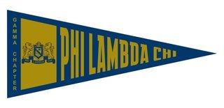 Phi Lambda Chi Wall Pennants