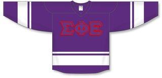 DISCOUNT-Sigma Phi Epsilon Breakaway Lettered Hockey Jersey