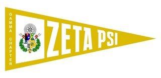 Zeta Psi Wall Pennants