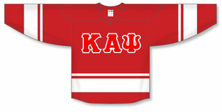 DISCOUNT-Kappa Alpha Psi Breakaway Lettered Hockey Jersey