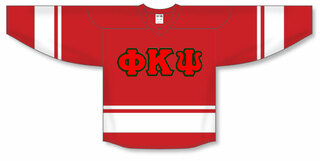 DISCOUNT-Phi Kappa Psi Breakaway Lettered Hockey Jersey