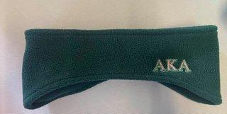 The New Super Savings - Alpha Kappa Alpha Ear Warmers - GREEN 1 of 3