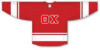 DISCOUNT-Theta Chi Breakaway Lettered Hockey Jersey
