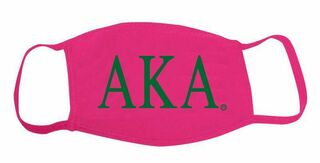 Alpha Kappa Alpha Face Masks
