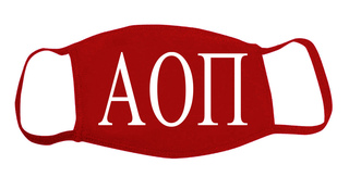 Alpha Omicron Pi Face Masks