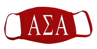 Alpha Sigma Alpha Face Masks