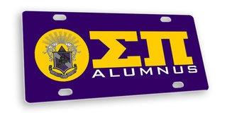 Fraternity & Sorority Alumni / Alumna License Cover