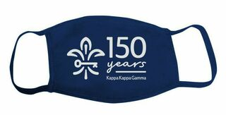 Kappa Kappa Gamma 150 Year Face Mask