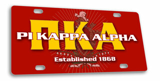 Pi Kappa Alpha License Cover