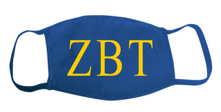 Zeta Beta Tau Face Masks