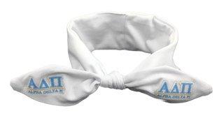 Alpha Delta Pi Knotted Cotton Headband