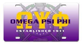 Greek Crest Est. License Cover
