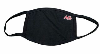 Alpha Phi Applique Face Masks