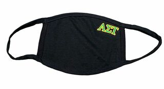 Alpha Sigma Tau Applique Face Masks