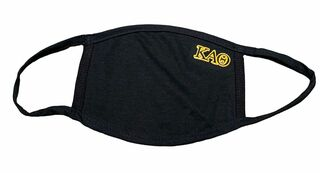Kappa Alpha Theta Applique Face Masks