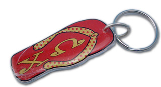 Sorority Flip Flop Key Chains