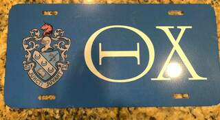 New Super Savings - Theta Chi License Cover - BLUE