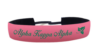 Alpha Kappa Alpha Satin Headband