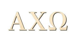 Alpha Chi Omega Big Wooden Greek Letters