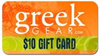 $10 Greekgear Gift Cards