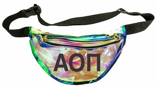 Alpha Omicron Pi Holographic Fanny Pack