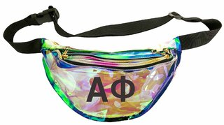 Alpha Phi Holographic Fanny Pack
