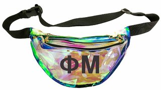 Phi Mu Holographic Fanny Pack