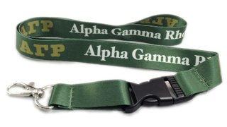 Alpha Gamma Rho Lanyard
