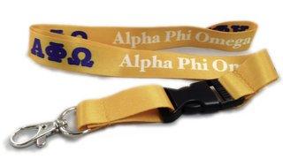 Alpha Phi Omega Lanyard