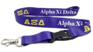 Alpha Xi Delta Lanyard