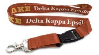 Delta Kappa Epsilon Lanyard