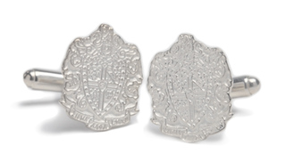 Sigma Alpha Epsilon Sterling Silver Crest Cufflinks