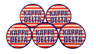 Sorority Patriotic USA Buttons