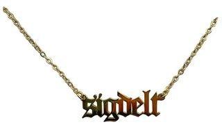 Sigma Delta Tau Old English Necklaces