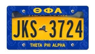Theta Phi Alpha New License Plate Frame