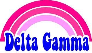 Delta Gamma Rainbow Decals