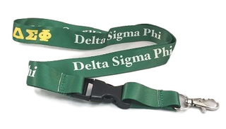 Delta Sigma Phi Lanyard