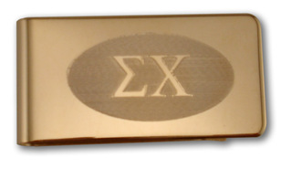 Sigma Chi Money Clip