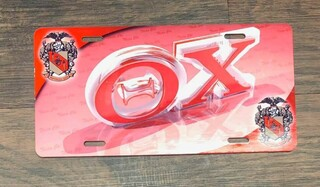 Super Savings - Theta Chi License Clover - RED 1 of 5