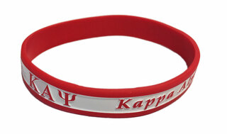 Kappa Alpha Psi Silicone Bracelet