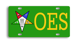 Order Of Eastern Star License Cover
