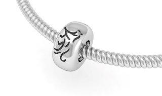 Sigma Lambda Gamma Silver Bead Necklace
