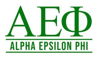 Alpha Epsilon Phi Custom Sticker - Personalized