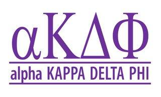 alpha Kappa Delta Phi Custom Sticker - Personalized