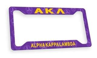 Alpha Kappa LambdaCustom License Plate Frame