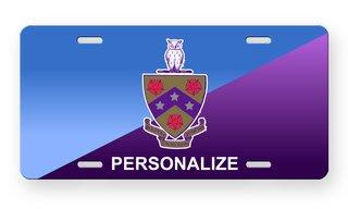 FIJI Fraternity License Cover