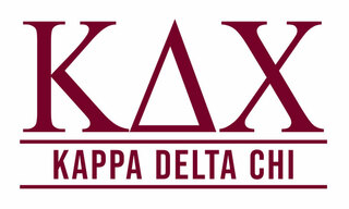 Kappa Delta Chi Custom Sticker - Personalized