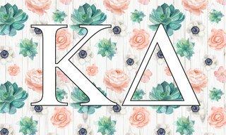 Kappa Delta New Succulent Flag